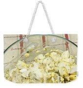Mixing Egg Salad Ingredients Weekender Tote Bag