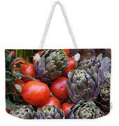 Articholes And Tomatoes Weekender Tote Bag