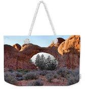 Moab Snow Globe Weekender Tote Bag