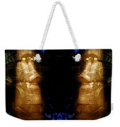 Moai Gold Weekender Tote Bag