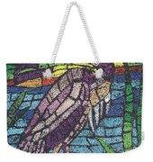Moasic Crane Weekender Tote Bag