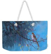 Mockingbird Happiness Weekender Tote Bag