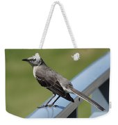 Mockingbird Perched Weekender Tote Bag
