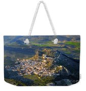 Moclin Castle From The Air Weekender Tote Bag
