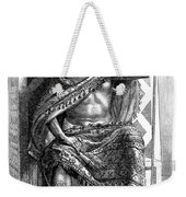 Moctezuma II, Ninth Tlatoani, Aztec Weekender Tote Bag