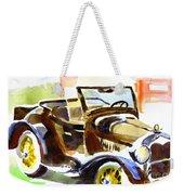Model A In September Sunshine Weekender Tote Bag