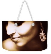 Model - Beauty Weekender Tote Bag