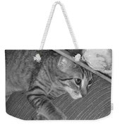 Model Kitten Weekender Tote Bag