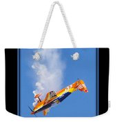 Model Plane 10 Weekender Tote Bag