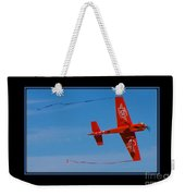 Model Plane 6 Weekender Tote Bag