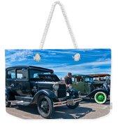 Model T Fords Weekender Tote Bag by Steve Harrington