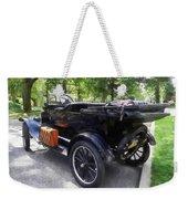 Model T With Luggage Rack Weekender Tote Bag