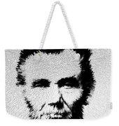 Modern Abe - Abraham Lincoln Art By Sharon Cummings Weekender Tote Bag