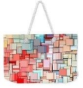 Modern Abstract X Weekender Tote Bag
