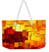 Modern Abstract Xi Weekender Tote Bag by Lourry Legarde