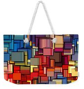 Modern Abstract Xii Weekender Tote Bag by Lourry Legarde