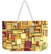 Modern Abstract Xxi Weekender Tote Bag