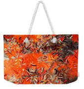 Modern Abstract Xxx Weekender Tote Bag