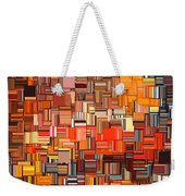 Modern Abstract Xxxi Weekender Tote Bag