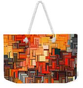 Modern Abstract Xxxiv Weekender Tote Bag