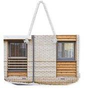 Modern Apartment Windows Weekender Tote Bag