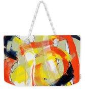 Modern Art Eighteen Weekender Tote Bag