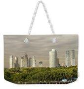 Modern Buenos Aires Weekender Tote Bag