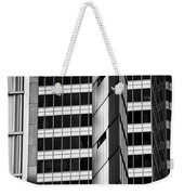 Modern Buildings Abstract Architecture Weekender Tote Bag