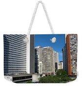 Modern Buildings In Central Rio De Weekender Tote Bag