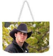 Modern Day Cowboy Weekender Tote Bag