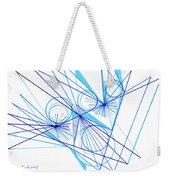 Modern Drawing Eighty-eight Weekender Tote Bag