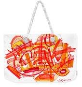 Modern Drawing Eighty-six Weekender Tote Bag