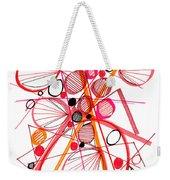 Modern Drawing Fifty-four Weekender Tote Bag