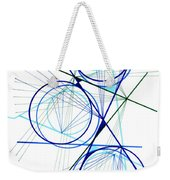 Modern Drawing Fifty-seven Weekender Tote Bag