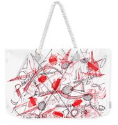 Modern Drawing Ninety-five Weekender Tote Bag