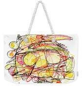 Modern Drawing Seventy-eight Weekender Tote Bag
