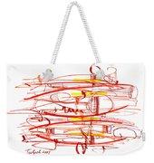 Modern Drawing Seventy Weekender Tote Bag