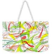 Modern Drawing Seventy-three Weekender Tote Bag