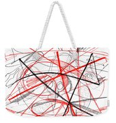Modern Drawing Seventy-two Weekender Tote Bag