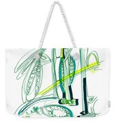 Modern Drawing Sixty-four Weekender Tote Bag