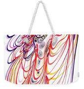 Modern Drawing Sixty-three Weekender Tote Bag