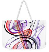 Modern Drawing Sixty-two Weekender Tote Bag