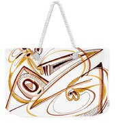 Modern Drawing Twenty Weekender Tote Bag