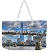 Modern London Weekender Tote Bag