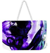 Modern Purple  Weekender Tote Bag
