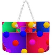 Modern Rain Weekender Tote Bag