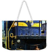 Modern Train Engine Weekender Tote Bag