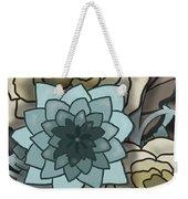 Modern Water Lily Weekender Tote Bag