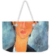 Modigliani's Chaim Soutine Up Close Weekender Tote Bag