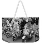 Mods Scooters Weekender Tote Bag